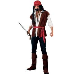 Caribbean Pirate Man Costume